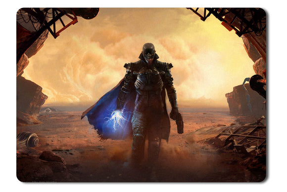 Mouse pad  Game The Technomancer 02- 21.5 X 27 X 0.3cm