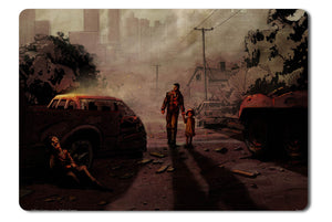 Mouse pad  Game The Walking Dead The Game 01- 21.5 X 27 X 0.3cm