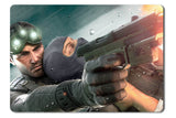 Mouse pad  Game Tom Clancys Splinter Cell Chaos Theory 01- 21.5 X 27 X 0.3cm