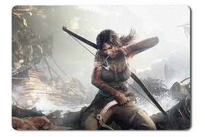 Mouse pad  Game Tomb Raider 01- 21.5 X 27 X 0.3cm