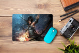 Mouse pad  Game Tomb Raider Fan Art 04- 21.5 X 27 X 0.3cm