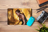 Mouse pad  Game Tomb Raider The Beginning 02- 21.5 X 27 X 0.3cm