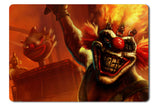 Mouse pad  Game Twisted Metal 01- 21.5 X 27 X 0.3cm