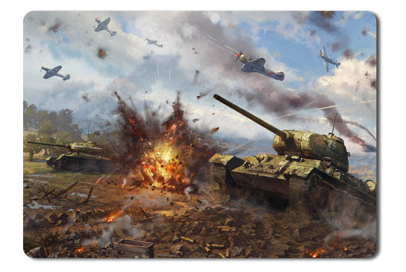 Mouse pad  Game War Thunder 03- 21.5 X 27 X 0.3cm