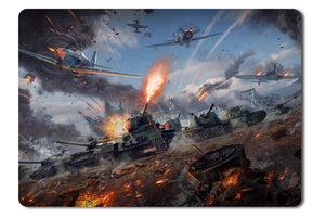 Mouse pad  Game War Thunder 04- 21.5 X 27 X 0.3cm