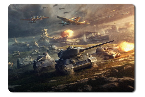 Mouse pad  Game Wargaming 01- 21.5 X 27 X 0.3cm