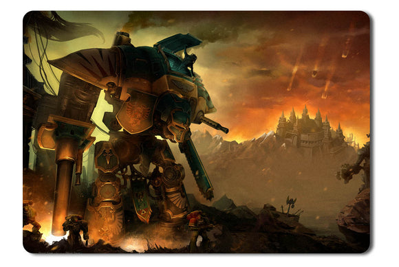 Mouse pad  Game Warhammer 40000 Freeblade 01- 21.5 X 27 X 0.3cm