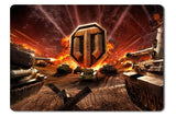 Mouse pad  Game World Of Tanks 02- 21.5 X 27 X 0.3cm