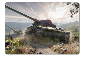 Mouse pad  Game World Of Tanks 15- 21.5 X 27 X 0.3cm