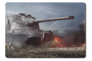 Mouse pad  Game World Of Tanks 16- 21.5 X 27 X 0.3cm