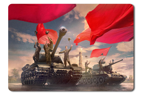Mouse pad  Game World Of Tanks 19- 21.5 X 27 X 0.3cm