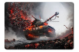 Mouse pad  Game World Of Tanks 21- 21.5 X 27 X 0.3cm