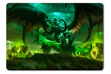 Mouse pad  Game World Of Warcraft Legion 01- 21.5 X 27 X 0.3cm