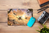 Mouse pad  Game World Of Warplanes 01- 21.5 X 27 X 0.3cm