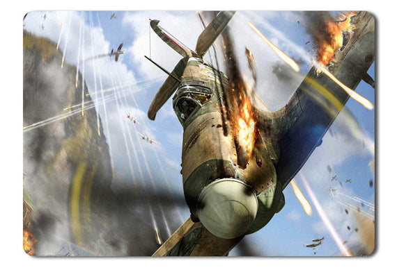 Mouse pad  Game World Of Warplanes 03- 21.5 X 27 X 0.3cm