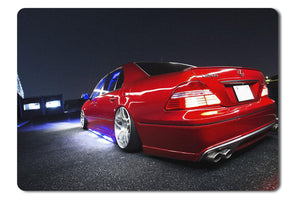 Mouse Pad Japan Cars Slammed Toyota Celsior - 21.5 x 27 x 0.3cm