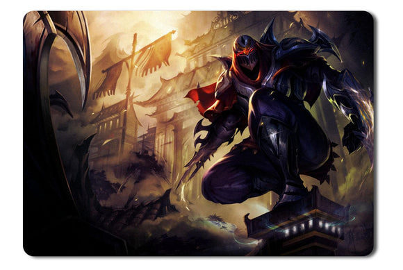 Mouse Pad League Of Legends Zed - 21.5 x 27 x 0.3cm