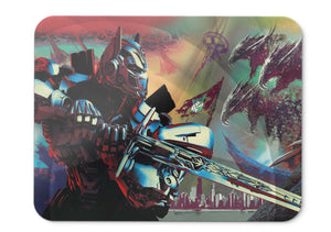 Mouse Pad Optimus Prime Transformers The Last Knight  Movies  - 21.5 X 27 X 0.3cm