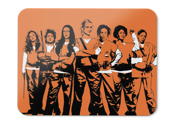 Mouse Pad Orange Is The New Black Season - 21.5 X 27 X 0.3cm