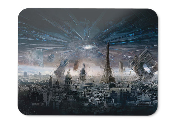Mouse Pad Paris Independence Day Resurgence - 21.5 X 27 X 0.3cm