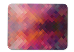 Mouse Pad Pattern Geometric Colorful Pink Hd  - 21.5 X 27 X 0.3cm