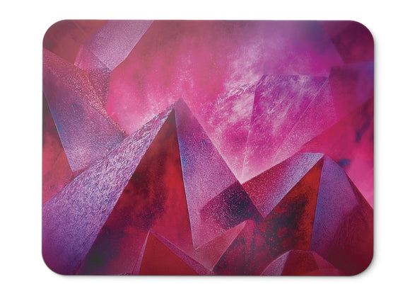 Mouse Pad Pink Abstract Moto Z Force Stock Hd  - 21.5 X 27 X 0.3cm