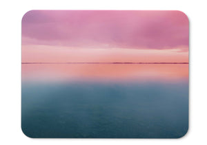 Mouse Pad Pink Clouds Sunset Stock Hd  - 21.5 X 27 X 0.3cm