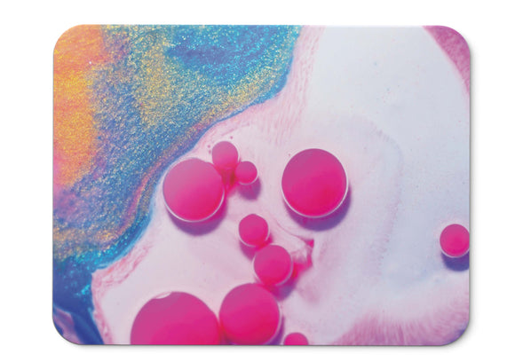 Mouse Pad Pink Goodies Fluidic Hd  - 21.5 X 27 X 0.3cm