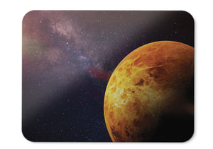 Mouse Pad Planet Stars Galaxy Cosmos - 21.5 X 27 X 0.3cm