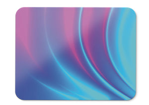 Mouse Pad Plasma Effect Polynomial Neon Colorful - 21.5 X 27 X 0.3cm