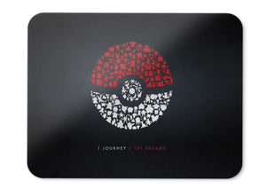 Mouse Pad Pokemon Go Journey Dreams Hd  - 21.5 X 27 X 0.3cm