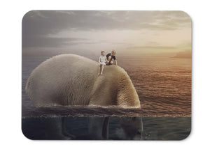 Mouse Pad Polar Bear Big Bear Kids Boy Girl Hd  - 21.5 X 27 X 0.3cm