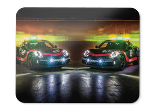 Mouse Pad Porsche  Turbo Wec Safety Car   - 21.5 X 27 X 0.3cm