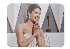 Mouse Pad Priyanka Chopra Academy Awards  Indian Actress  - 21.5 X 27 X 0.3cm