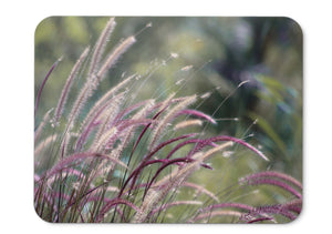 Mouse Pad Purple Fountain Grass Hd - 21.5 X 27 X 0.3cm