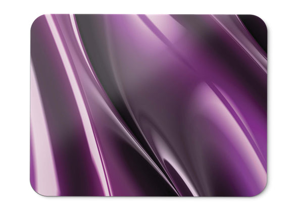 Mouse Pad Purple Fractal Surface Render  - 21.5 X 27 X 0.3cm