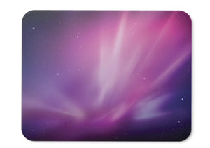Mouse Pad Purple Violet Aurora Stock Mac Os X Hd - 21.5 X 27 X 0.3cm