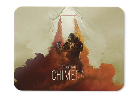 Mouse Pad Rainbow Six Siege Operation Chimera - 21.5 X 27 X 0.3cm