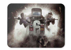 Mouse Pad Rainbow Six Siege Tom Clancys Year  Pass Dlc Hd  - 21.5 X 27 X 0.3cm