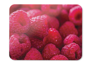 Mouse Pad Raspberries Red Bokeh  - 21.5 X 27 X 0.3cm