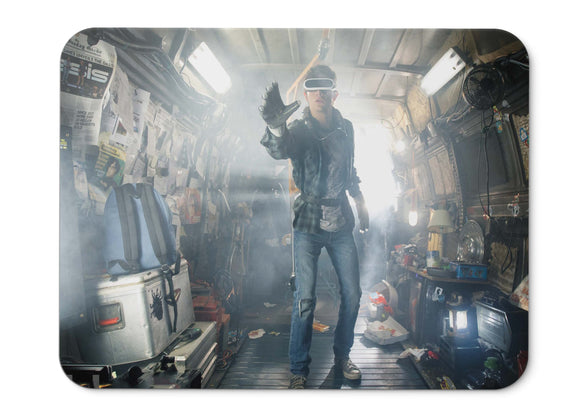 Mouse Pad Ready Player One Action Sci Fi Thriller Steven Spielberg  - 21.5 X 27 X 0.3cm