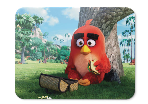 Mouse Pad Red Angry Birds - 21.5 X 27 X 0.3cm