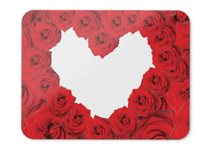 Mouse Pad Red Roses Hd  - 21.5 X 27 X 0.3cm