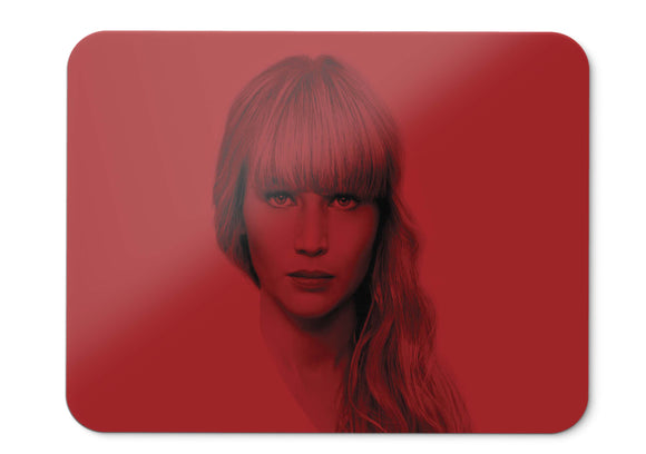 Mouse Pad Red Sparrow Jennifer Lawrence   001 - 21.5 X 27 X 0.3cm