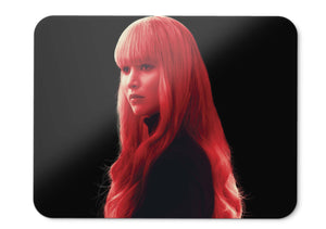 Mouse Pad Red Sparrow Jennifer Lawrence  - 21.5 X 27 X 0.3cm