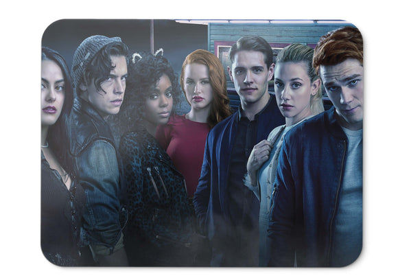 Mouse Pad Riverdale Season  Cole Sprouse Ashleigh Murray Lili  - 21.5 X 27 X 0.3cm