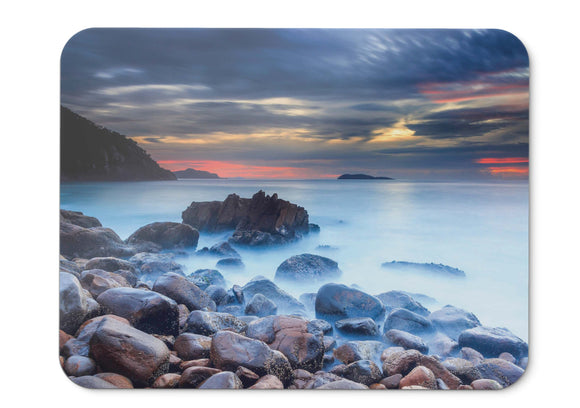Mouse Pad Rocks Zenith Beach Nelson Bay - 21.5 X 27 X 0.3cm