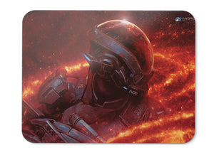 Mouse Pad Ryder N Mass Effect Andromeda Andromeda Initiative - 21.5 X 27 X 0.3cm