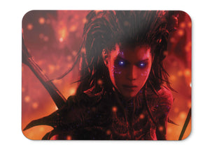 Mouse Pad Sarah Kerrigan Queen Of Blades Starcraft Artwor - 21.5 X 27 X 0.3cm