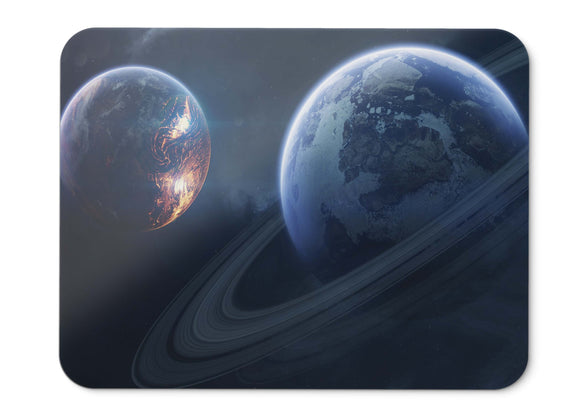 Mouse Pad Saturn Planet Rings Of - 21.5 X 27 X 0.3cm